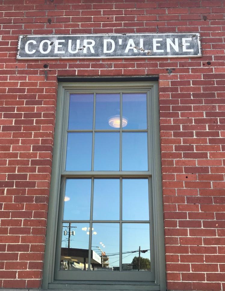 Coeur D'Alene Sign