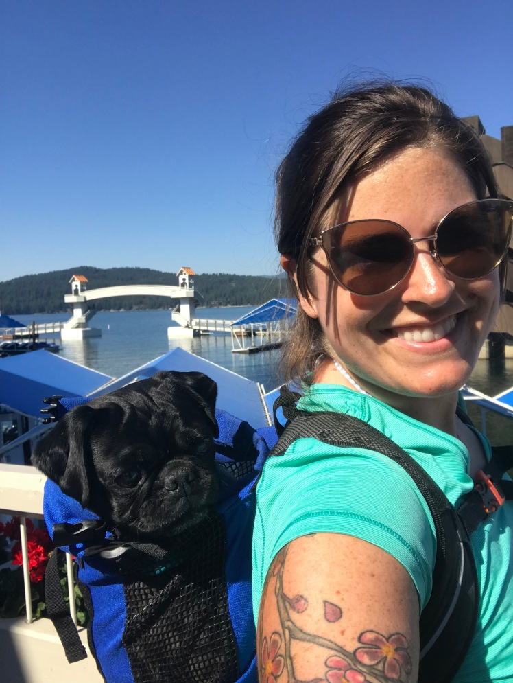 Lake View Selfie