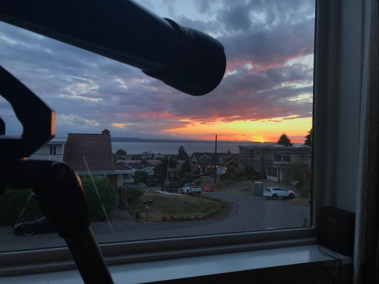 Sunset View from Edmonds