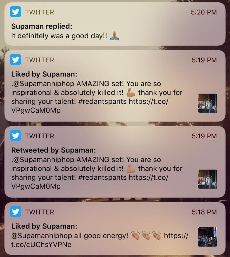 Supaman Liked and Retweeted