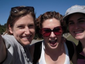 Elyse, Hilary, Kaitlin